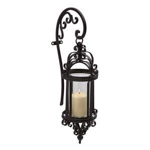 IMAX Worldwide Home Candle Holders and Lanterns Dempsy Hanging Wall Lantern
