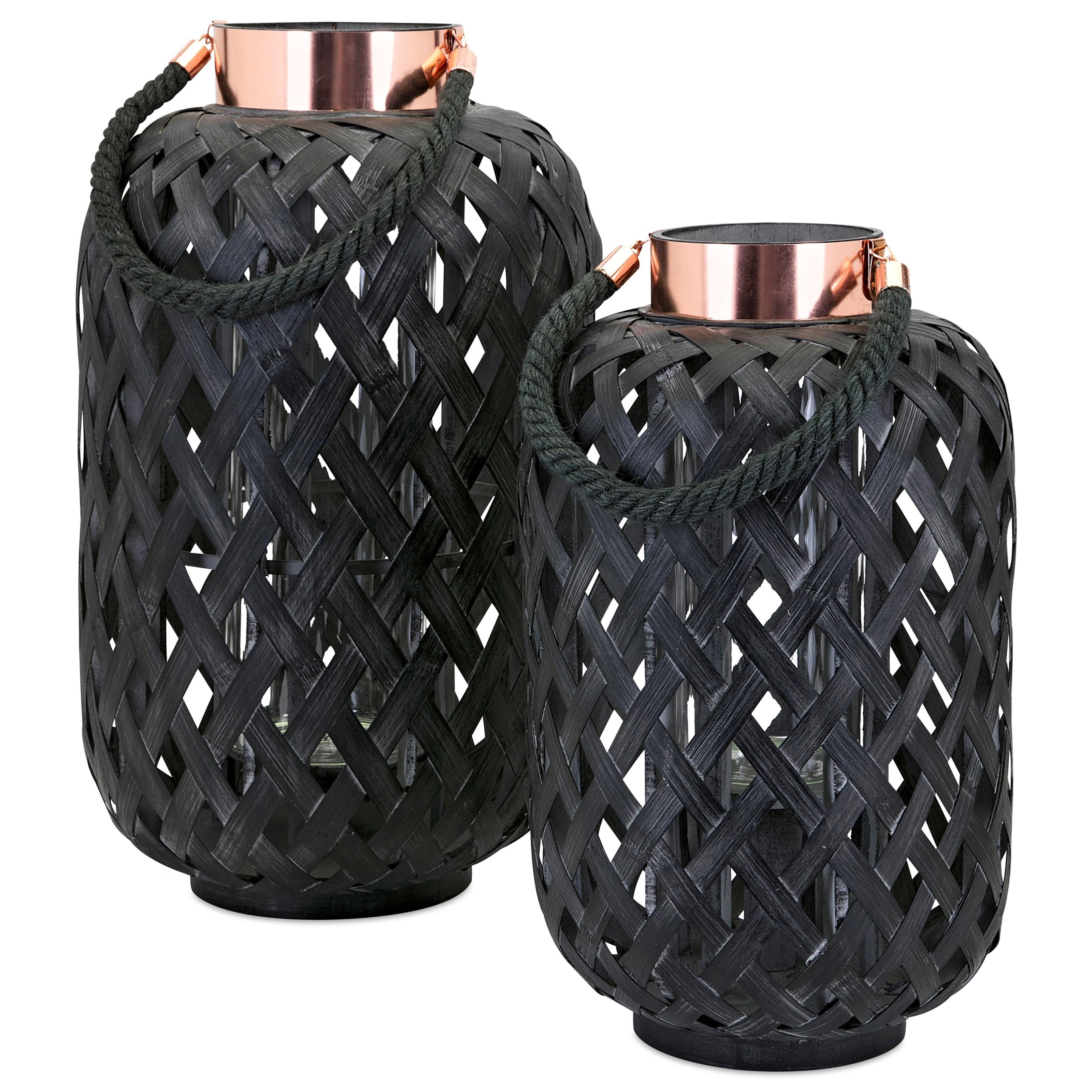 Anja Large Bamboo Lantern