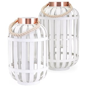 IMAX Worldwide Home Candle Holders and Lanterns Stephie Large Lantern