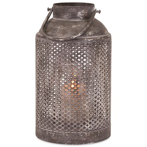 IMAX Worldwide Home Candle Holders and Lanterns Farmer's Small Lantern