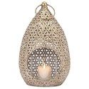 IMAX Worldwide Home Candle Holders and Lanterns Teardrop Large Lantern - Item Number: 14220