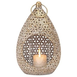IMAX Worldwide Home Candle Holders and Lanterns Teardrop Small Lantern