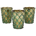 IMAX Worldwide Home Candle Holders and Lanterns Lumina Glass Candleholders with Gift Box - Item Number: 14384