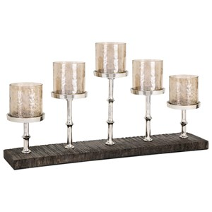 IMAX Worldwide Home Candle Holders and Lanterns Pberon 5-Light Candleholder
