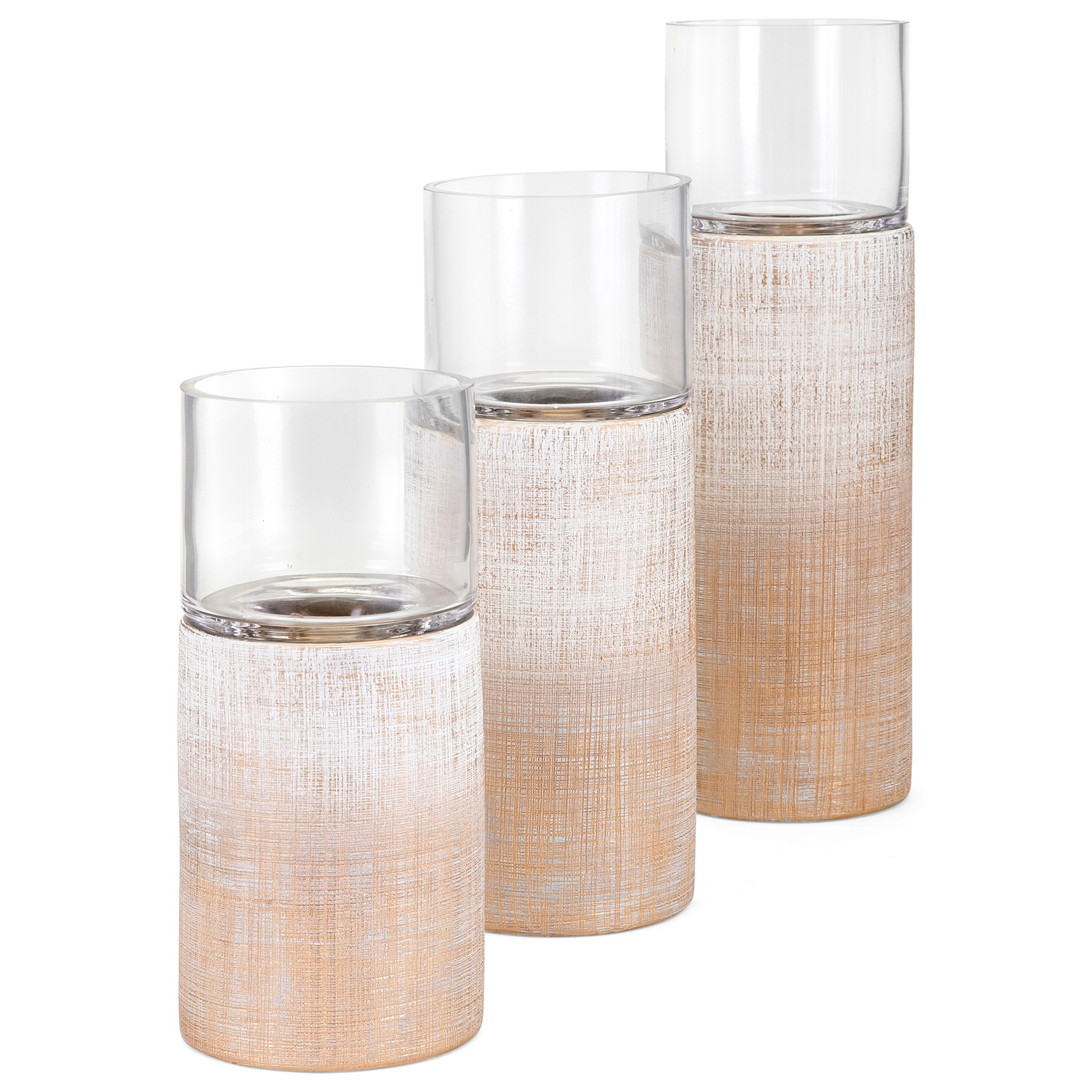 Arya Candleholders - Set of 3