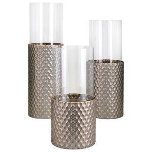 IMAX Worldwide Home Candle Holders and Lanterns Leila Candleholders - Set of 3