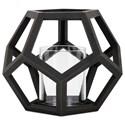 IMAX Worldwide Home Candle Holders and Lanterns Ubon Small Wood Lantern