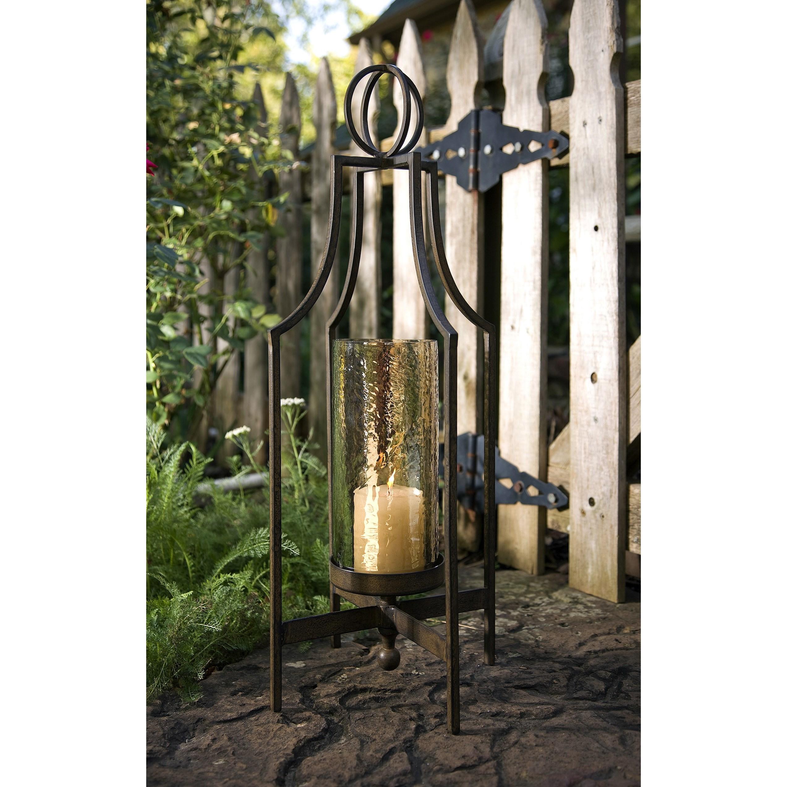 Bauer Iron Candleholder
