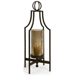 IMAX Worldwide Home Candle Holders and Lanterns Bauer Iron Candleholder