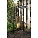 IMAX Worldwide Home Candle Holders and Lanterns Bauer Iron Candleholder - Item Number: 20053
