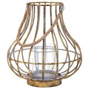 IMAX Worldwide Home Candle Holders and Lanterns Reko Tall Lantern - Item Number: 20403