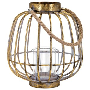 IMAX Worldwide Home Candle Holders and Lanterns Reko Short Lantern
