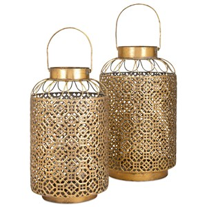 IMAX Worldwide Home Candle Holders and Lanterns Jabir Large Lantern