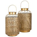 IMAX Worldwide Home Candle Holders and Lanterns Jabir Small Lantern - Item Number: 20415