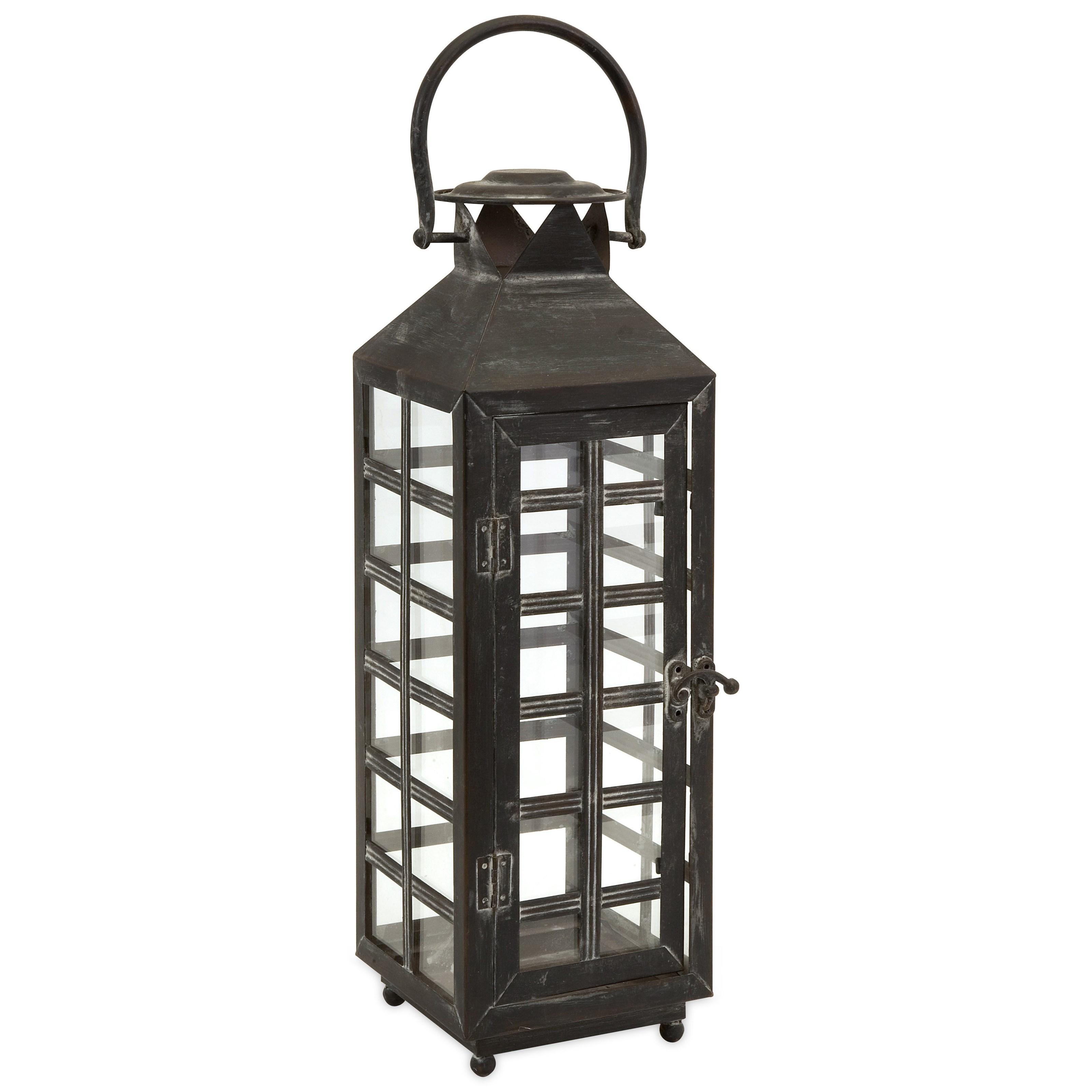 Drake Tall Candle Lantern