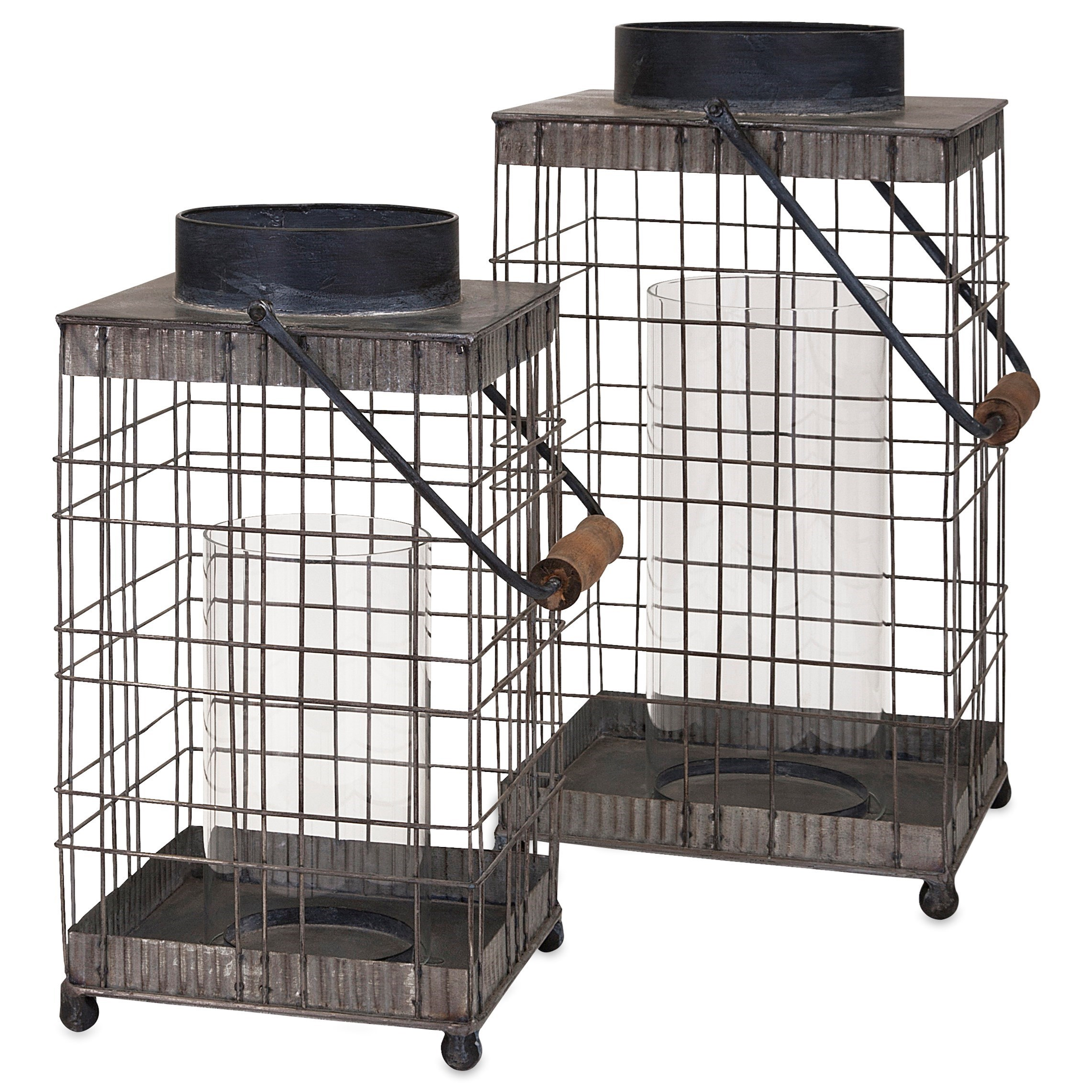 Pitzer Small Wire Lantern