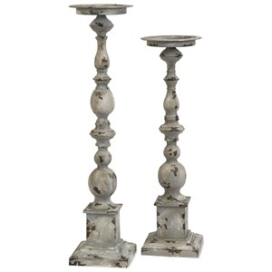 IMAX Worldwide Home Candle Holders and Lanterns Hamilton Candleholders - Set of 2