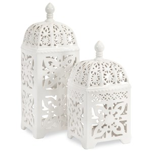 Maya Tealight Lanterns - Set of 2
