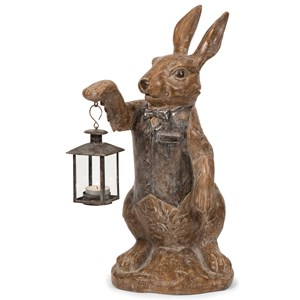 IMAX Worldwide Home Candle Holders and Lanterns Mr. Rabbit Candle Lantern