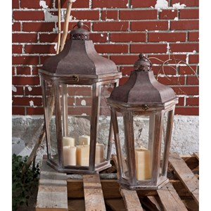 Layla Oversized Lanterns - Set of 2