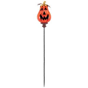 IMAX Worldwide Home Candle Holders and Lanterns Jackson Jack O Lantern Orange Stake