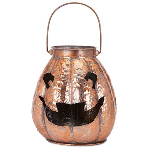 Ronan Copper Finish Jack-o'-lantern