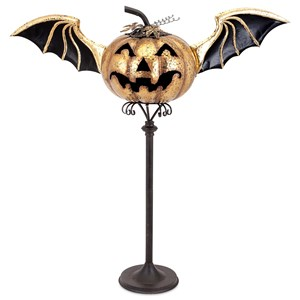 IMAX Worldwide Home Candle Holders and Lanterns Eddy Jack O Lantern Stand