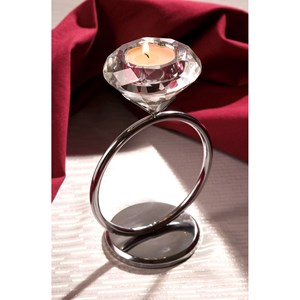 Diamond Solitaire Votive Candleholder