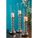 IMAX Worldwide Home Candle Holders and Lanterns Mellis Large Candleholder - Item Number: 97220