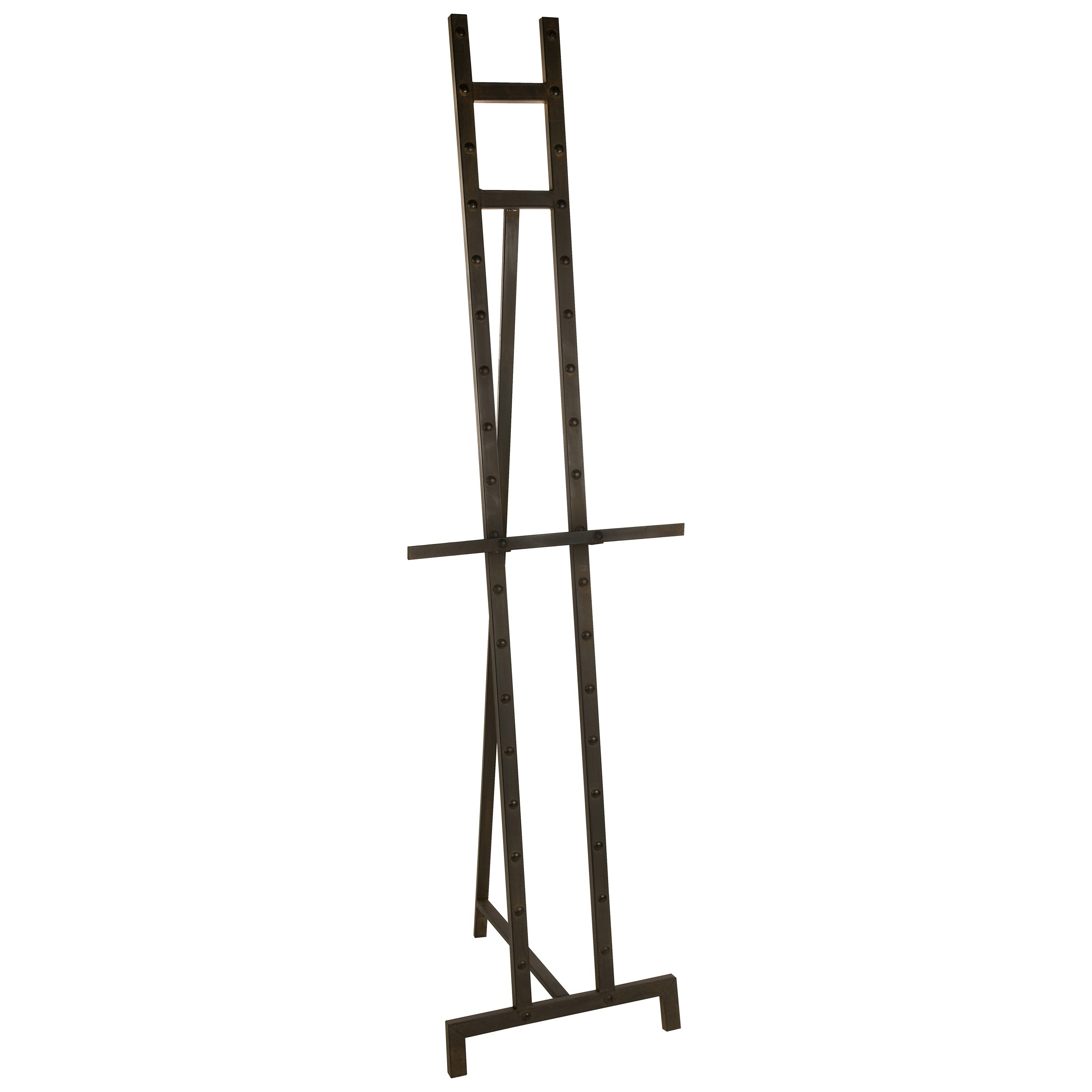 Carolyn Kinder Rupbert Iron Floor Easel by IMAX Worldwide Home at Miller Waldrop Furniture and Decor