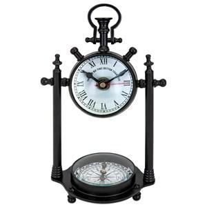 IMAX Worldwide Home Clocks Canna Compass Clock