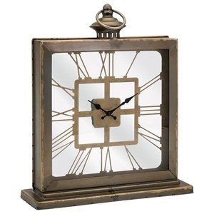 IMAX Worldwide Home Clocks Elliott Table Clock