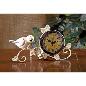 IMAX Worldwide Home Clocks Bird Tabletop Clock