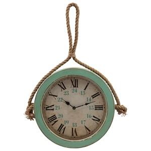 IMAX Worldwide Home Clocks Burton Coastal Wall Clock