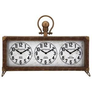 IMAX Worldwide Home Clocks Westville Clock