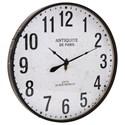 IMAX Worldwide Home Clocks Chestnut Wall Clock - Item Number: 18355