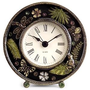 IMAX Worldwide Home Clocks Jeweled Desk Clock