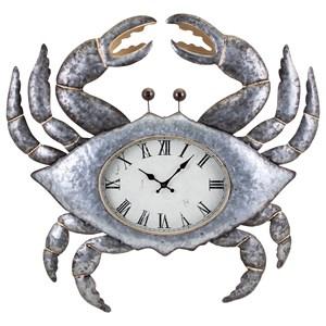 IMAX Worldwide Home Clocks Crabby the Clock