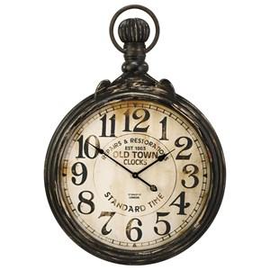 IMAX Worldwide Home Clocks Churchill Pocket Wall Clock
