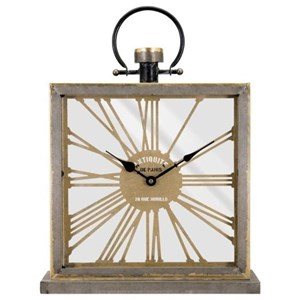 IMAX Worldwide Home Clocks Lewis Mantel Clock