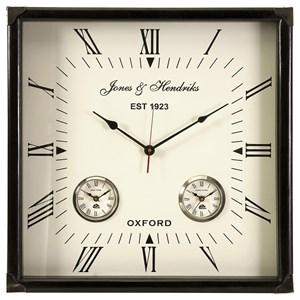 IMAX Worldwide Home Clocks Worldtimer Wall Clock