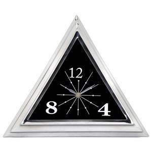 IMAX Worldwide Home Clocks Adney Triangle Clock