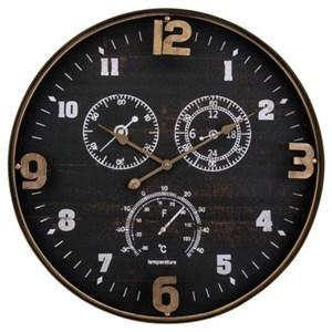 IMAX Worldwide Home Clocks Clark Wall Clock