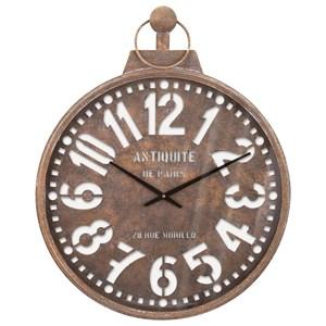IMAX Worldwide Home Clocks Uptown Wall Clock