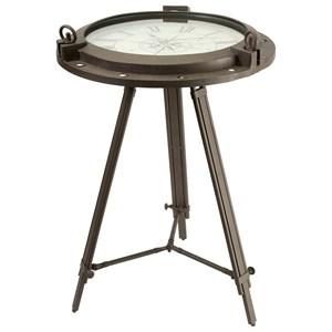 IMAX Worldwide Home Clocks Tripod Clock Table