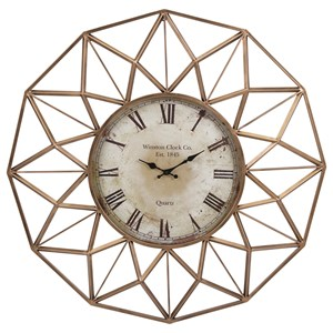IMAX Worldwide Home Clocks Banyan Wall Clock