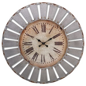 IMAX Worldwide Home Clocks Dees Iron Clock