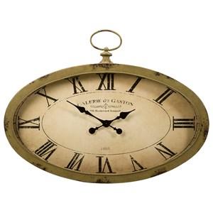 IMAX Worldwide Home Clocks Sophie Oval Wall Clock