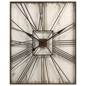 IMAX Worldwide Home Clocks Montgomery Wall Clock