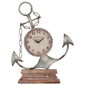 IMAX Worldwide Home Clocks Anchor Clock